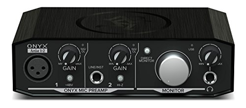 Mackie Onyx Artist 1-2 2x2 USB Audio Interface