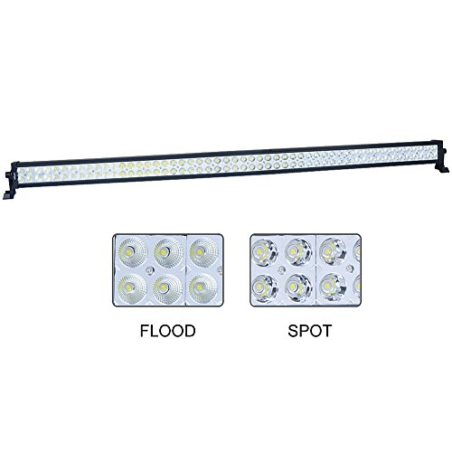 "Nilight 54"" 312W Spot Flood Combo Led Light Bar Driving Ligh"