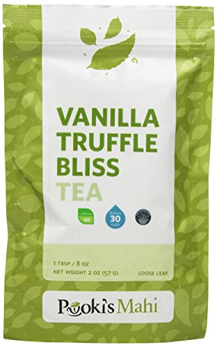 Pooki's Mahi Vanilla Truffle Bliss Tea, 2 Ounce
