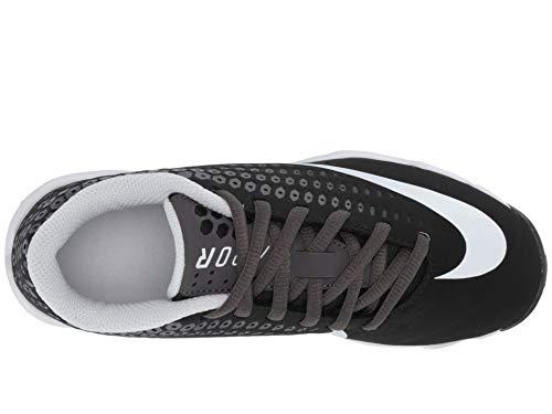 cdd6e7393036 Nike Kids' Lunar Vapor Ultrafly 2 Keystone Baseball Cleats (5.5, Black/Grey