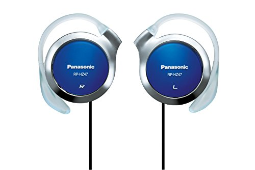 Panasonic Clip Headphones Blue RP-HZ47-A (Japan Import)