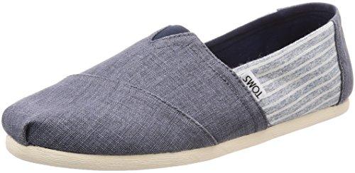Shoes on Women's Ocean Stripe Deep Slip Seasonal TOMS Classics aAZCSCq