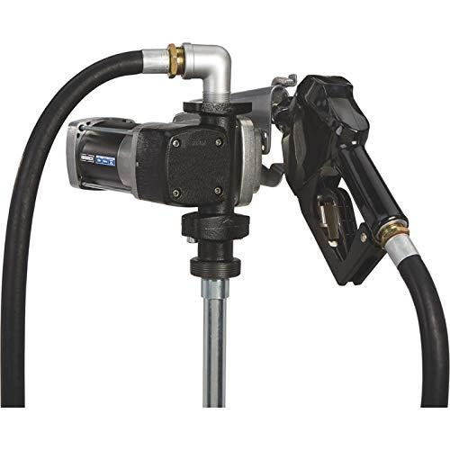 - Roughneck Heavy-Duty Fuel Transfer Pump - 15 GPM, 120 Volt AC, Auto Nozzle, Gasoline Compatible