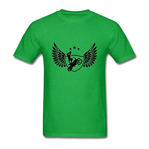 NYShirt Men's Motocross Short Sleeve T-Shirt