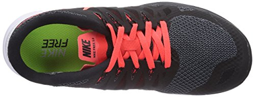 Nike  Free 5.0 - Zapatillas para mujer Black/Bright Crimson-White