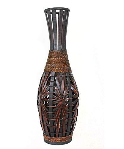 Jarrón de Madera de bambú