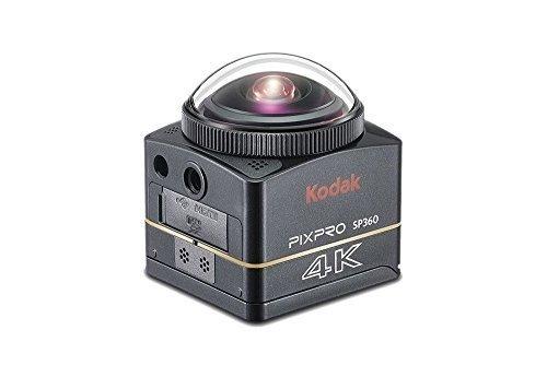 Kodak PIXPRO SP360 4K Aqua - Cámara Deportiva (Tarjeta de Memoria, CMOS, Ión de Litio, 3840 x 2160 Pixeles, JPG, 1280 x...