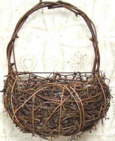 Twig Wall Basket