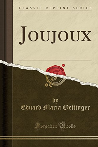 joujoux-classic-reprint-french-edition
