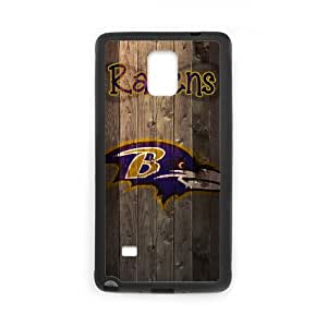 Baltimore Ravens Samsung Galaxy Note 4 Cell Phone Case Black 218y3-133393