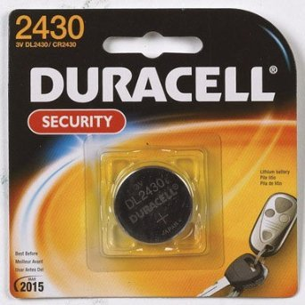 Duracell - 2430 3V Lithium Coin Battery - long lasting battery - 1 count (Lithium Batteries Cr2430)