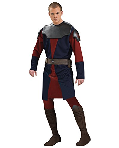 Anakin Skywalker Star Wars Theatre Costumes Mens Deluxe Cstume SciFi Fantasy Sizes: One Size (Halloween Cstume)