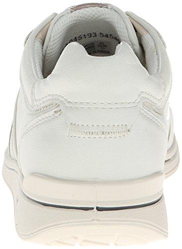 Ecco Mujeres Mobile Ii Premium Flat Shadow Blanco