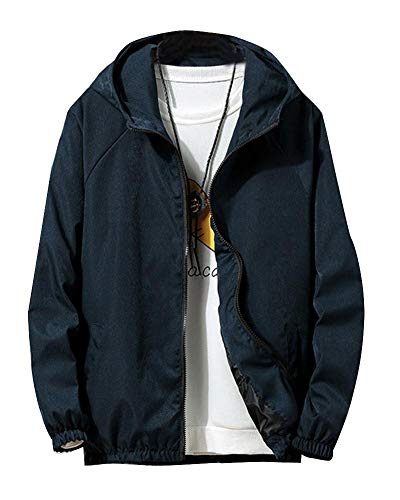 Softshell Giacca Giacche Marino Peso Leggero Jacke Blu Sport In Uomo Sottile Quge Z5qwxgtX1P