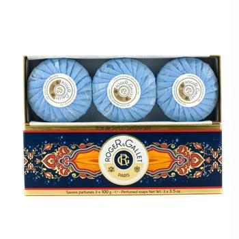 Gallet Sandalwood Soap (Roger & Gallet Sandalwood Perfumed Soap Coffret - 3x100g/3.5oz)