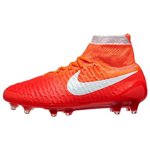 Nike Womens Magista Obra Fg Fotball Cleats (lys Rød / Universitet Rød / Hyper  Oransje