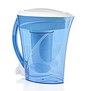 ZeroWater 8 Cup Pitcher with Free TDS Light-Up Indicator (Total Dissolved Solids) - ZD-013D