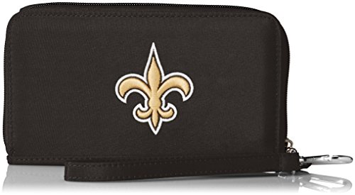 Cell Saints (Charm14 NFL New Orleans Saints Deluxe Cell Phone Wallet-Fits All Phones)