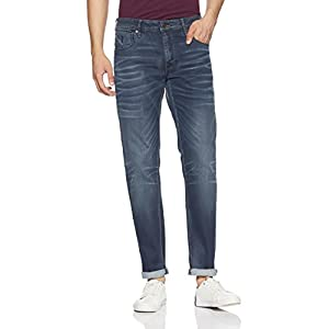 Jack & Jones Men's Mike Relaxed Fit Stretchable Jeans