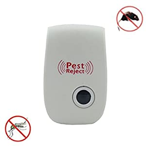 New Applied Insecticide Riddex Plus Electronic Ultrasonic Household Residential Pest Mouse Rodent Control Repeller 220V Repells Rodents and Insects