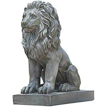 Gifts Decor Lion Guardian Crested Shield