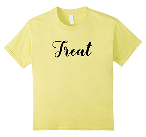 Kids MATCHING Trick or Treat couples costume halloween shirt set 4 (4 Person Matching Costumes)