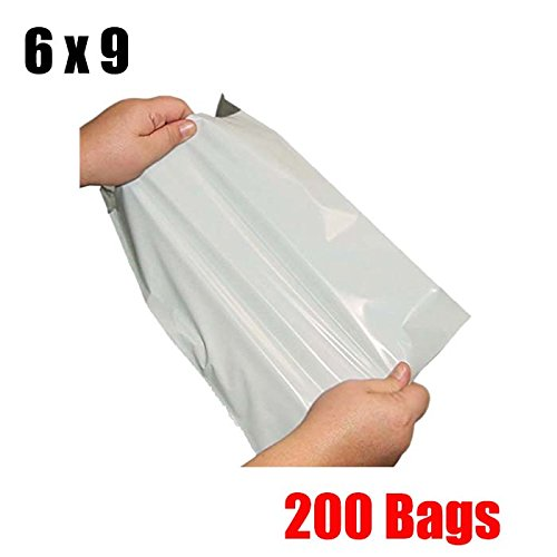 iMBAPrice 200 6x9 WHITE POLY MAILERS SHIPPING ENVELOPES BAGS 6 x 9