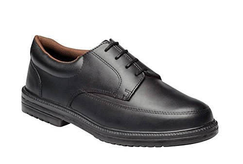 Dickies Executive Super Safety Shoe - Black - UK 7 / US 8 / EU 41