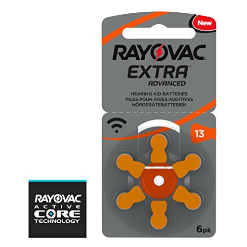Rayovac Size 13 Hearing Aid Battery 10-Packs of 6 Cells by Rayovac (Image #1)