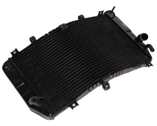 Motorbike Black Radiator Cooler For Suzuki GSXR600 GSXR750 01-03 GSXR1000 00-02