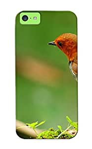 Fashionable VtWWBEJ3288PKjXf Iphone 5c Case Cover For Japanese Robin Protective Case