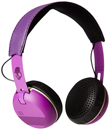 Skullcandy S5GRHT-468 Grind On-Ear Headphones with Built-In