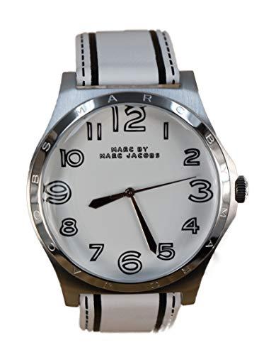 Leather White Dial Quartz - MBM1230 ()