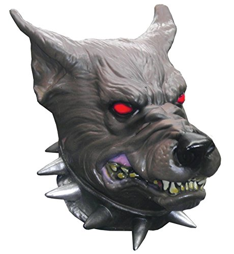 Devil Dog Animal Latex Adult Halloween Costume -