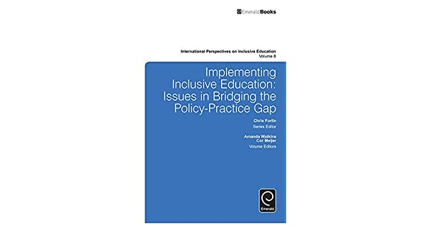Amazon implementing inclusive education issues in bridging the amazon implementing inclusive education issues in bridging the policy practice gap 8 international perspectives on inclusive education ebook fandeluxe Gallery