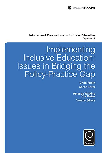 Amazon implementing inclusive education issues in bridging the implementing inclusive education issues in bridging the policy practice gap 8 international fandeluxe Gallery
