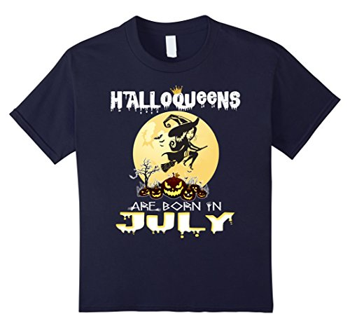 Costumes In Christmas July (Kids Halloqueens Are Born In July T-Shirt Funny Costume 12)