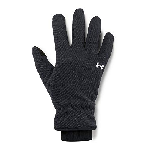 Under Armour Girls Storm Fleece Glove, Small, Black