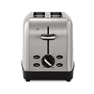 Oster TSSTTRWF2S Brushed Stainless Steel 2-Slice Toaster