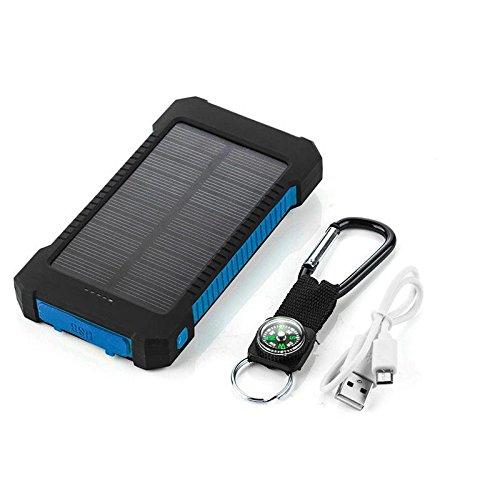 Eachbid portátil 20000 mAh cargador solar LED luz externo ...