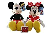 Minnie Mouse Mickey Mouse Plush Doll Disney - 15 inch