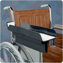 Universal Wheelchair Arm Tray Modified Universal Arm Tray with Foam Elevator (C5531-20)