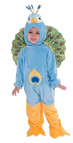 Forum Novelties Plush Peacock Child Costume, Toddler