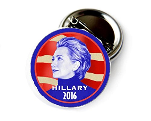 Hillary Clinton 2016 Campain Button - 3' Hillary Button