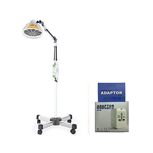 Far Infrared Lamp Mineral Heat Light Therapy Device TDP Heating Lamp Physical Therapy for Arthritis, Joint, Back Muscles Pain Relief (220V)