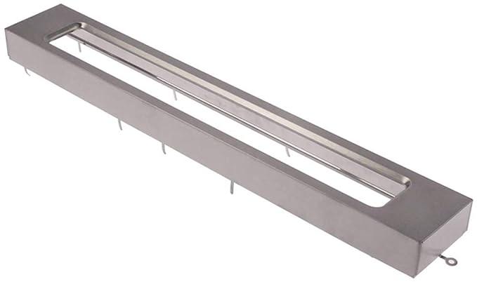 Horeca-Select - Marco para microondas (72 x 34 x 484 mm ...