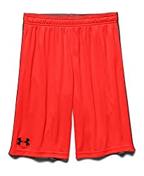 Under Armour Boys' UA Zinger Shorts XL (18-20 Big Kids) x One Size Red