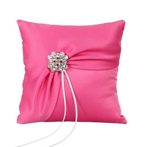 Fuchsia Flapper Dress (Ivy Lane Design Garbo Collection Wedding Ring Pillow, Fuchsia)