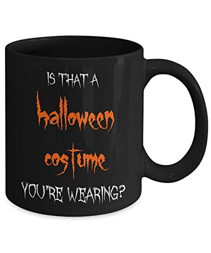 Halloween Gag Gift, Funny Halloween Mug, Halloween Coffee Cup, Halloween Costume, Scary Mug, Halloween Gifts For Adults, Halloween Gift Idea, 11oz, (Starbucks Cup Halloween Costume)