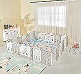 Albott Baby Playpen 22 Panel Baby playpen Folding